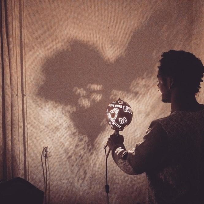 kalebas lamp Lobi da basi