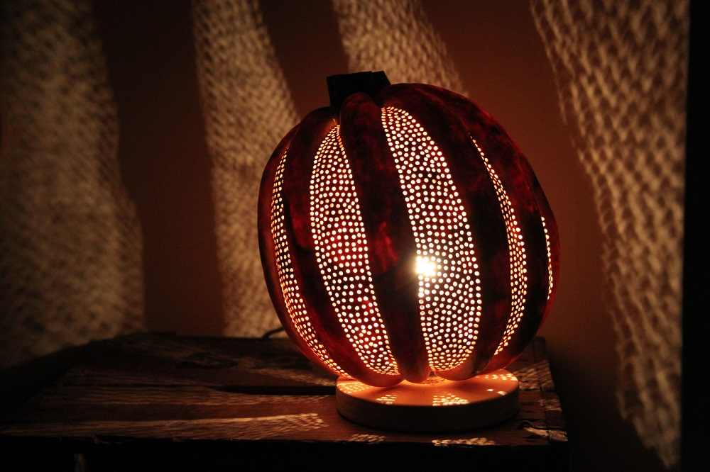 kalebas lamp